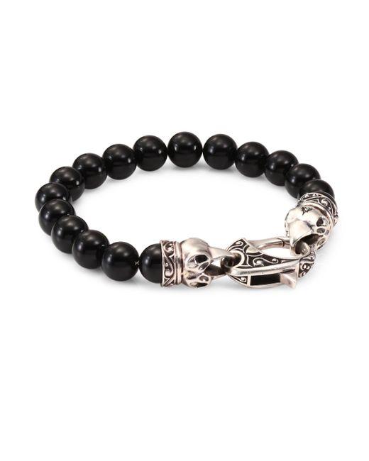 Stephen Webster | Metallic Raven Head Sterling Silver Bracelet | Lyst
