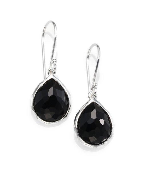 Ippolita - Rock Candy® Teardrop Earrings In Black Onyx - Lyst