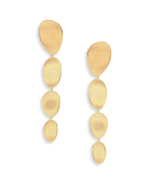 Marco Bicego - Metallic Lunaria 18k Yellow Gold Drop Earrings - Lyst