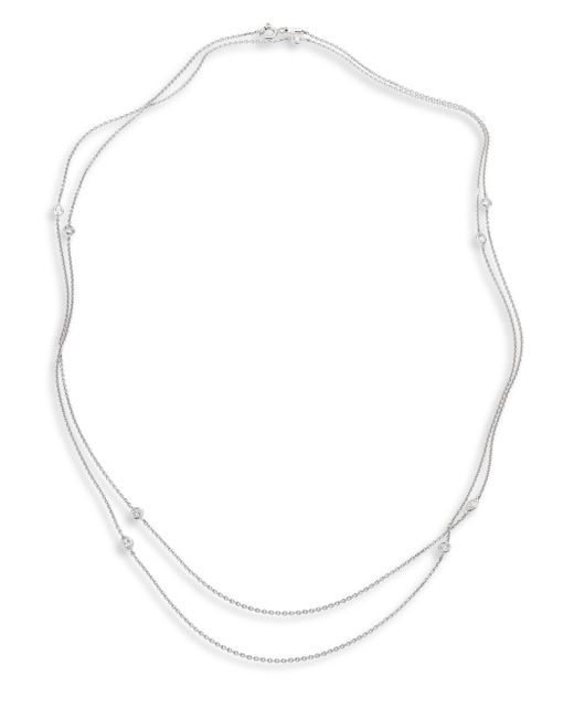 De Beers | Metallic Clea Sautoir Diamond & 18k White Gold Necklace | Lyst