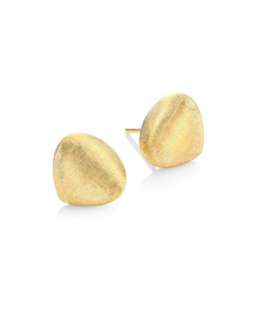 Marco Bicego - Metallic Paradise 18k Yellow Gold Teardrop Stud Earrings - Lyst