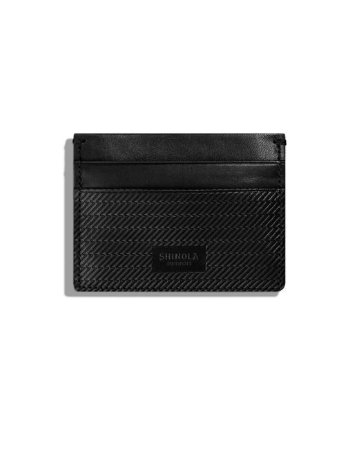 Shinola - Black Five-pocket Card Case 2.0 - Lyst