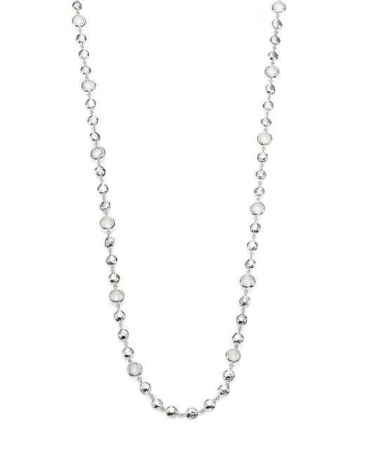 Ippolita | Metallic Rock Candy Clear Quartz & Sterling Silver Long Beaded Necklace | Lyst