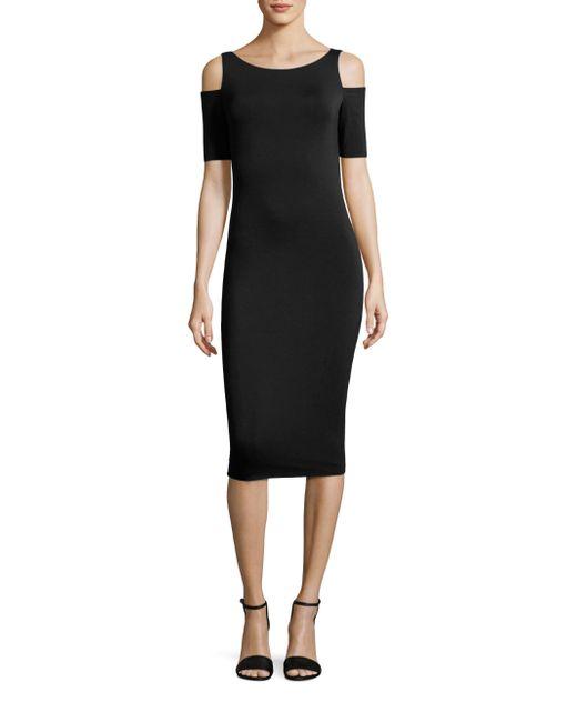 Bailey 44 - Black Deneuve Cold-shoulder Dress - Lyst
