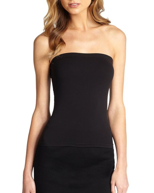 Wolford | Black Fatal Tube Top | Lyst