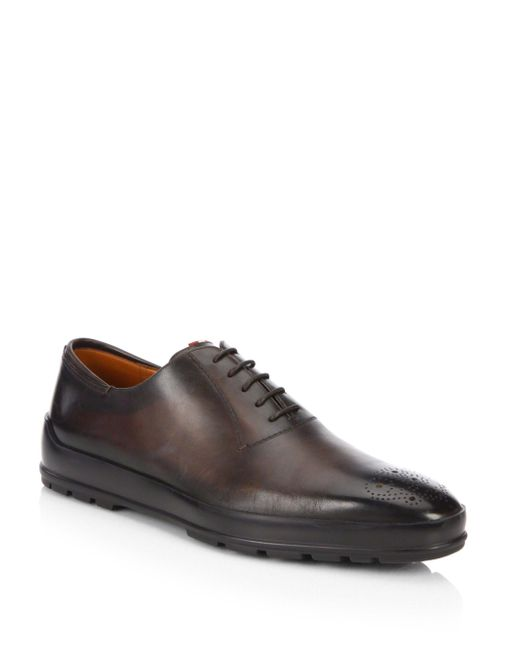 Bally | Brown Reddison Hybrid Leather Dress Shoes for Men | Lyst