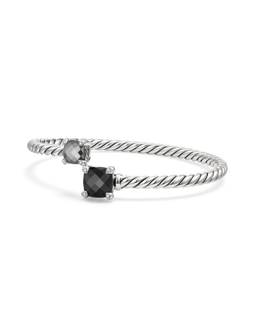 David Yurman - Metallic Hematine & Diamonds - Lyst