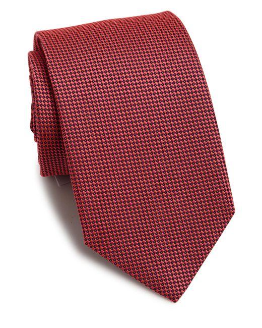 Eton of Sweden - Textured Silk Tie for Men - Lyst