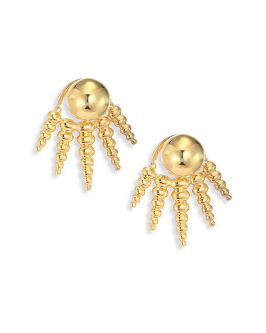 Nikos Koulis - Metallic Spectrum 18k Yellow Gold Ear Jacket & Stud Earrings Set - Lyst