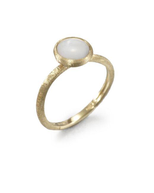 Marco Bicego - Metallic Jaipur Resort Mother-of-pearl & 18k Yellow Gold Ring - Lyst
