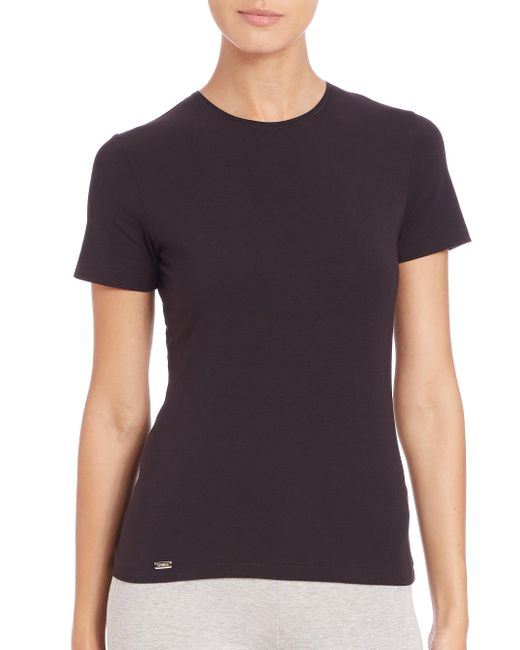 La Perla - Black New Project Short-sleeve Tee - Lyst