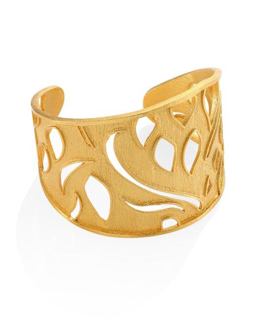 Stephanie Kantis | Metallic Heraldry Royal Cuff Bracelet | Lyst