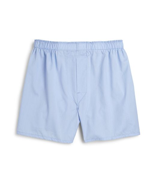 Saks Fifth Avenue - Blue Supima Cotton Boxers for Men - Lyst