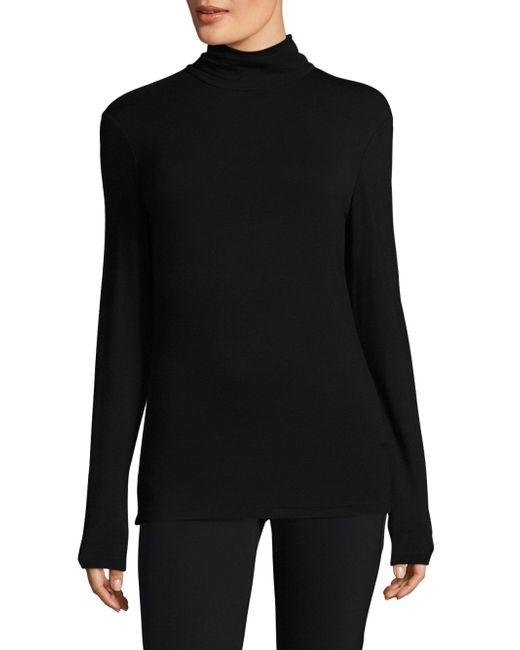 Lafayette 148 New York | Black Turtleneck Sweater | Lyst