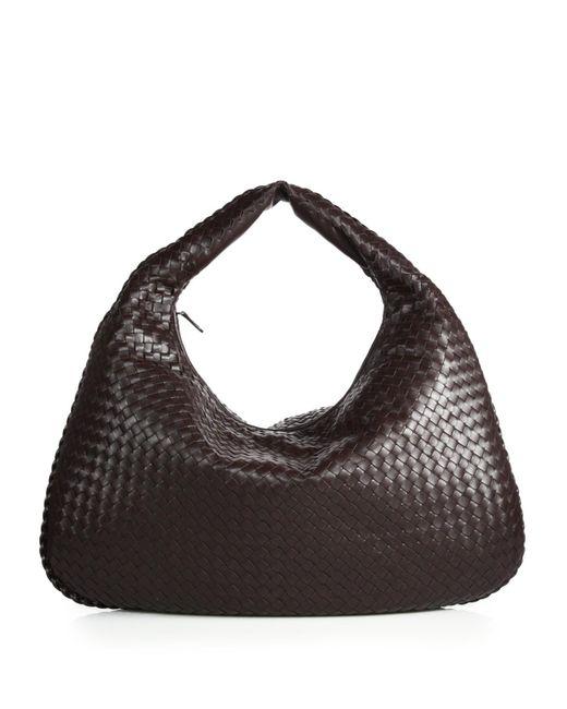 Bottega Veneta | Brown Veneta Large Hobo Bag | Lyst