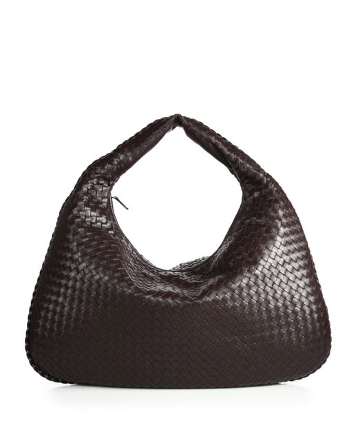 Bottega Veneta - Brown Veneta Large Hobo Bag - Lyst