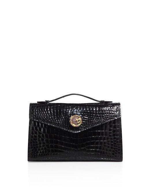 Ethan K - Black K22 Crocodile Top-handle Bag - Lyst