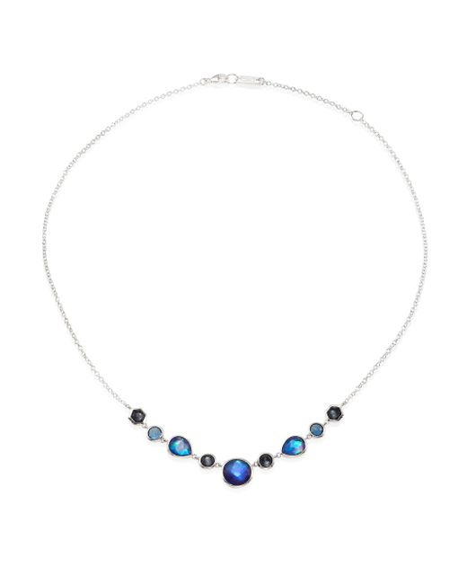 Ippolita | Metallic Rock Candy? Eclipse Mixed Stone & Sterling Silver Necklace | Lyst