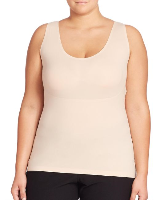 Spanx - Natural Plus Thinstincts Tank Top - Lyst