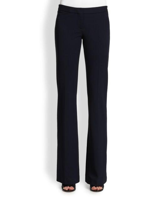 Derek Lam Black Alana Flare-leg Pants