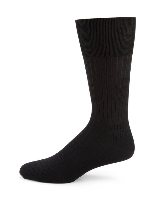 Falke | Black Luxury No. 13 Sea Island Cotton Socks for Men | Lyst