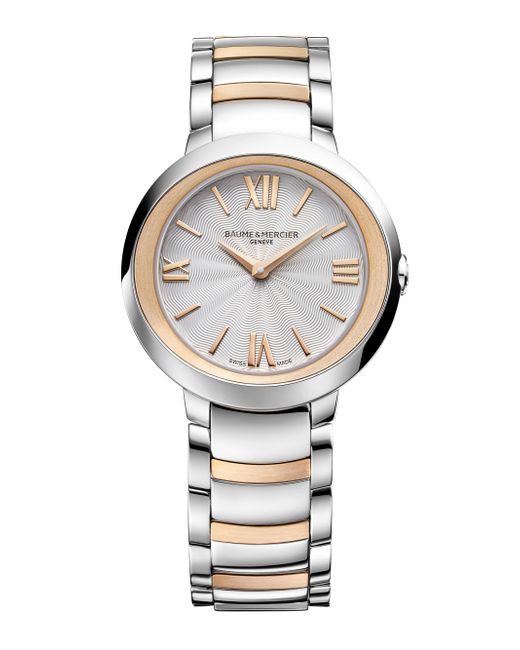 Baume & Mercier - Metallic Promesse 10159 Two-tone Bracelet Watch - Lyst