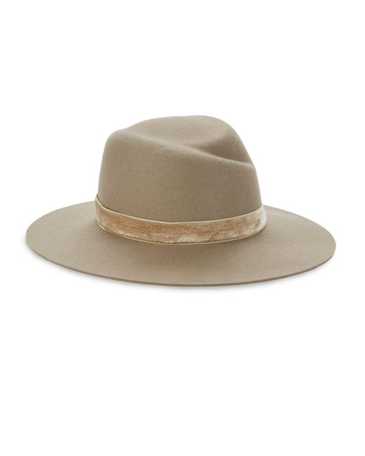 Rag & Bone | Multicolor Zoe Wool Fedora Hat | Lyst