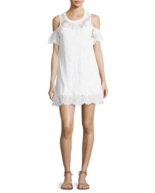 Generation Love | White Hamilton Regular-fit Lace Dress | Lyst