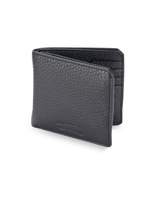 Uri Minkoff | Black Vesper Leather Wallet for Men | Lyst