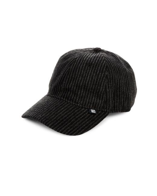 Block Headwear | Black Tonal Striped Baseball Cap for Men | Lyst