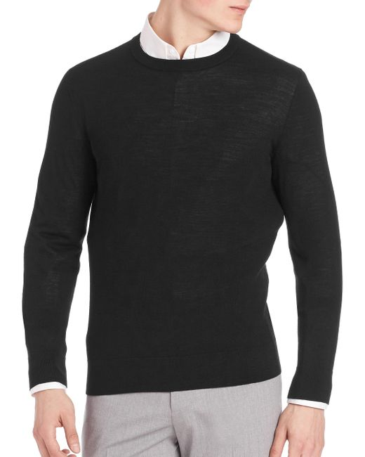 Theory - Black Riland New Sovereign Sweater for Men - Lyst