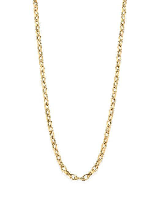 Roberto Coin - Metallic 18k Yellow Gold Chain/28 - Lyst