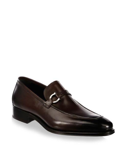 Ferragamo   Brown Domaso Tramezza Loafers for Men   Lyst