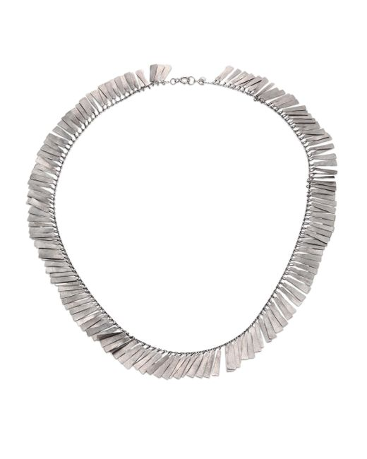 Sia Taylor - Metallic Raven Sterling Silver Necklace - Lyst