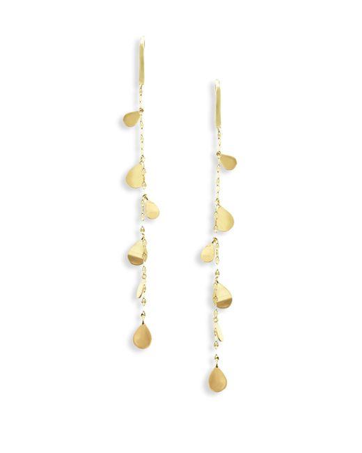 Lana Jewelry | Metallic 15-year Anniversary Marquis Linear Drop Earrings | Lyst