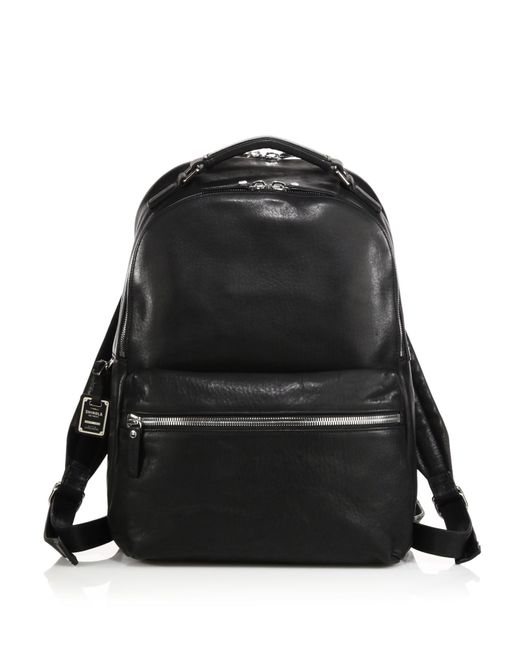 Shinola - Black Runwell Leather Backpack for Men - Lyst