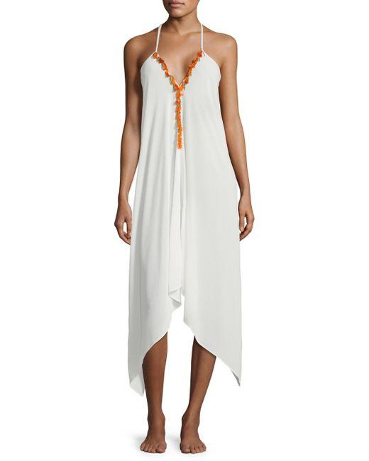 Ramy Brook   White Kym Tasseled Dress   Lyst
