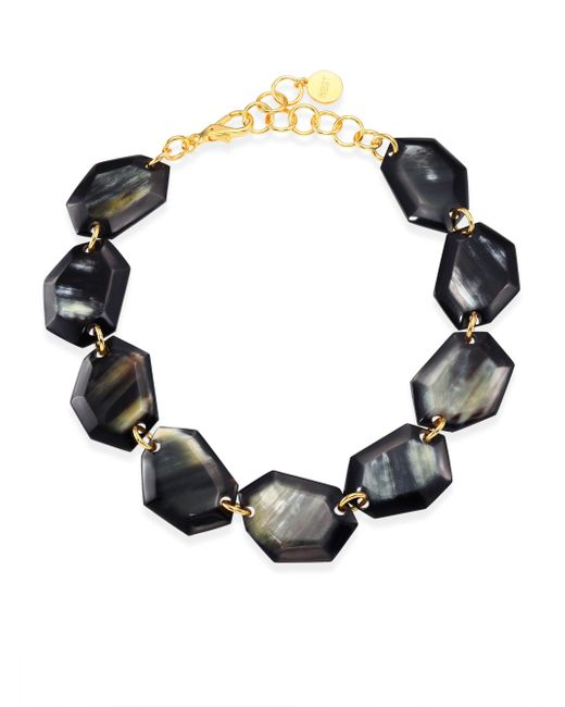 Nest | Metallic Faceted Horn Collar Necklace | Lyst