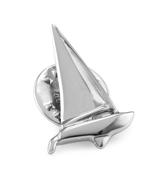 David Donahue | Metallic Sterling Silver Sailboat Pin | Lyst