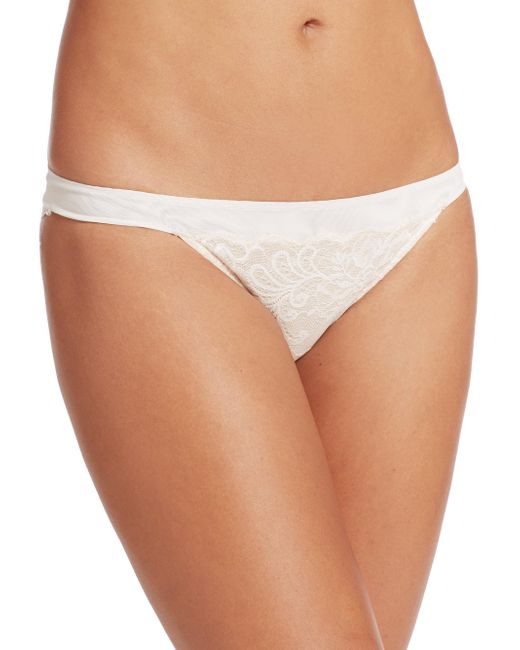 Le Mystere   Natural Sophia Lace Bikini Panties   Lyst