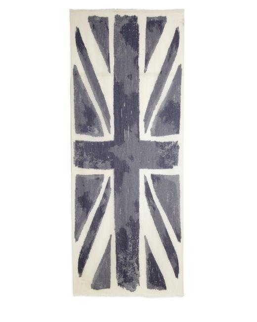 Roda | Blue Burnout Uk Flag Scarf for Men | Lyst
