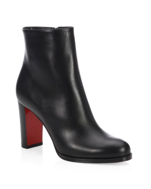 Christian Louboutin - Black Adox Leather Boots - Lyst