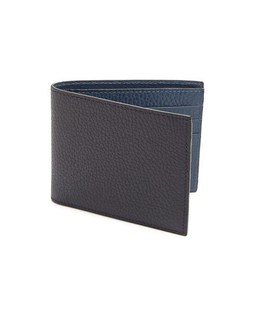 Saks Fifth Avenue - Black Collection Bi-fold Leather Wallet for Men - Lyst