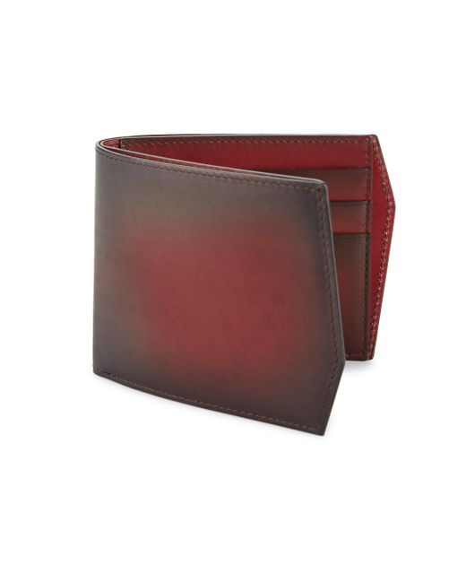 Corthay - Multicolor Faded Leather Bi-fold Wallet - Lyst
