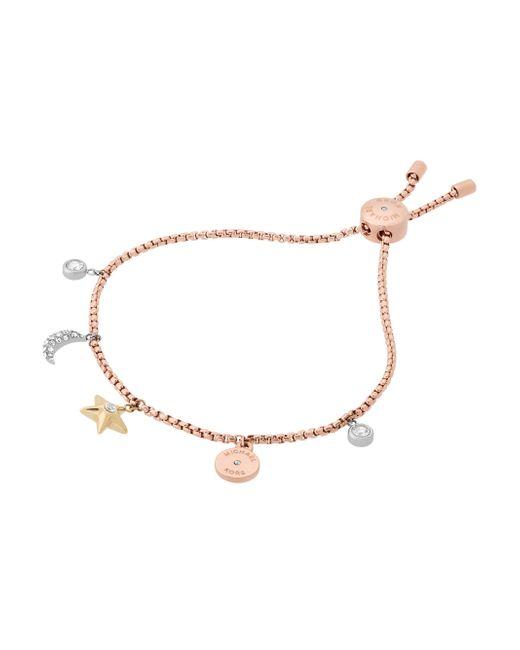 Michael Kors | Multicolor Celestial Crystal Charm Bracelet | Lyst