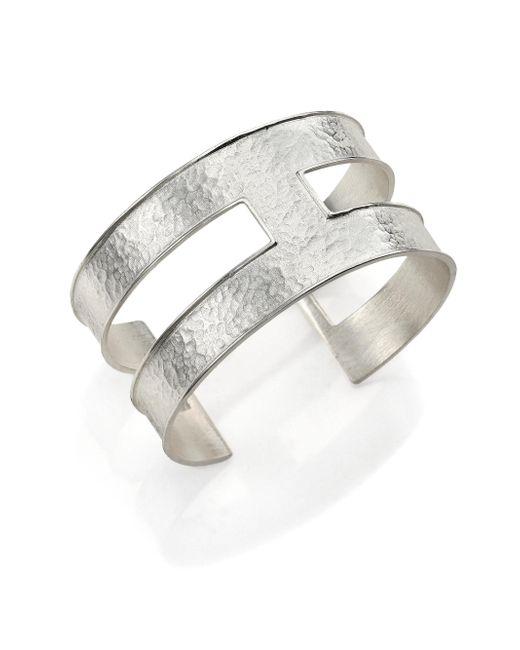Stephanie Kantis | Metallic Expressway Hammered Cuff Bracelet | Lyst