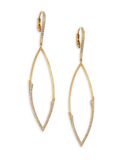 Etho Maria - Metallic My Etho 18k Gold & Diamond Earrings - Lyst