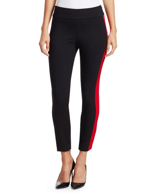 Alexander McQueen - Black Stretch Wool Trousers - Lyst