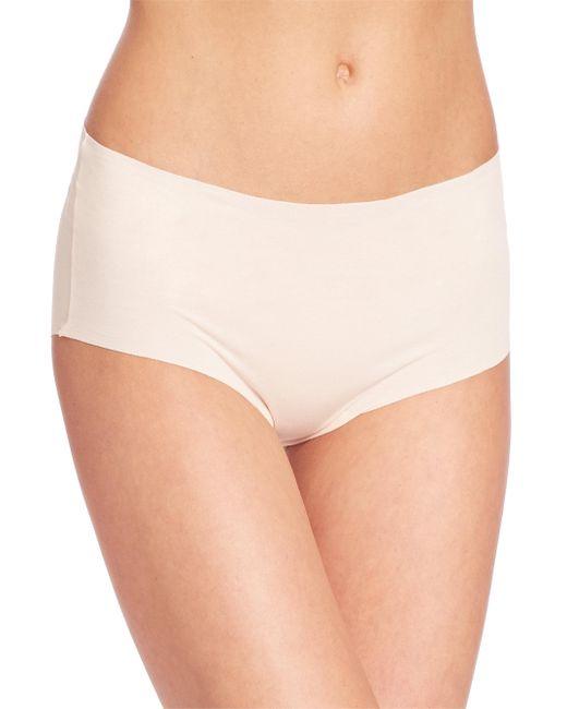 Hanro - Natural Invisible Cotton Full Brief - Lyst