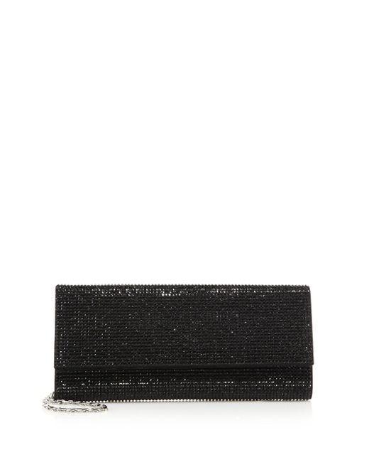 Judith Leiber Couture | Black Ritz Fizz Swarovski Crystal & Satin Clutch | Lyst